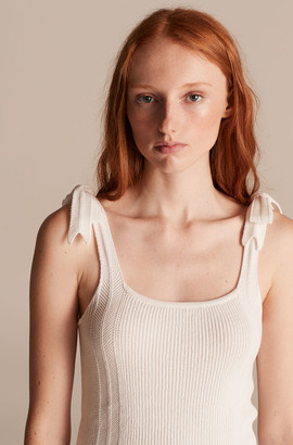 Rebecca Taylor La Vie Ribbed Cotton Tank