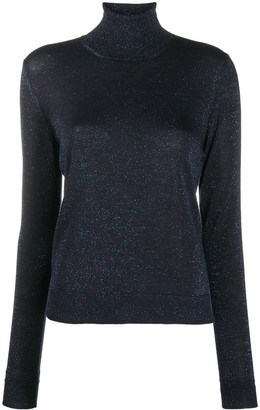 Nuur Metallized Roll-Neck Jumper
