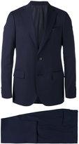 Lardini notched lapel two-piece suit - men - Cupro/Viscose/Wool - 46