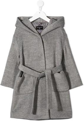MonnaLisa Pearl-Embellished Coat