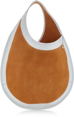 Hayward Tear Drop Suede Top Handle Bag