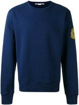Stella McCartney Members patch sweatshirt - men - Cotton - XS
