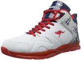 KangaROOS Unisex Adults' K-lev Vi Hi Low-Top Sneakers multi-coloured Size: 8