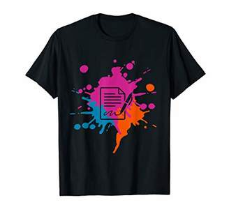 IDEA Writing Splash Hobby and Sport Gift T-Shirt