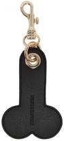 J.W.Anderson SSENSE Exclusive Black & White Penis Keychain