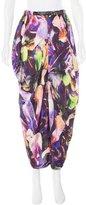 Zero Maria Cornejo Abstract Print Midi Skirt