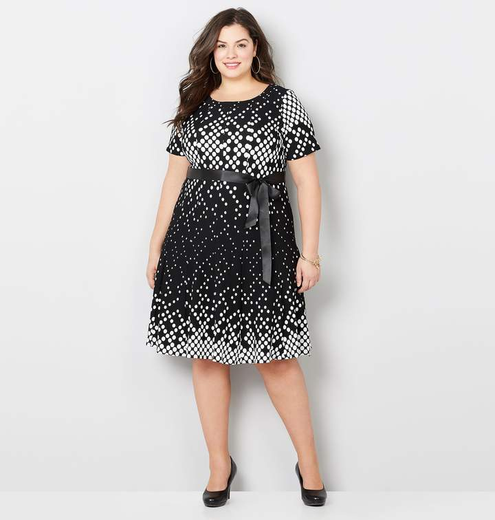 ea17648f8ed Avenue White Plus Size Dresses - ShopStyle