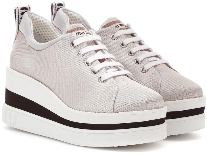 new concept f8a21 c566e Neoprene platform sneakers