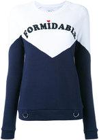 Zoe Karssen 'formidable' print sweatshirt - women - Cotton/Polyester - XS