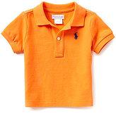 Ralph Lauren Baby Boys 3-24 Months Short-Sleeve Solid Mesh Polo Shirt