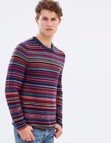 Paul Smith Multi-stripe Jumper
