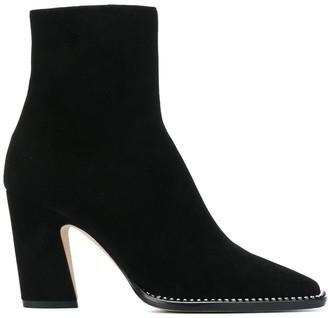 Jimmy Choo Mavin 85mm square-toe boots