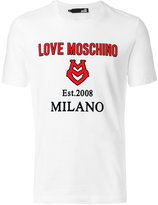 Love Moschino applique logo T-shirt