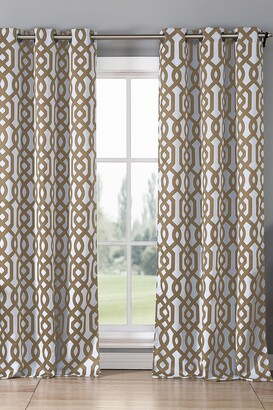 Duck River Textile Ashmont Blackout Grommet Curtain - Set of 2 - Taupe