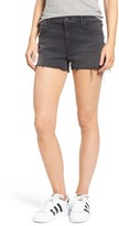 Mother Women's The Teaser High Waist Cutoff Denim Shorts