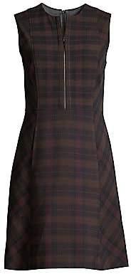 Elie Tahari Women's Louisa Plaid Fit-&-Flare Dress