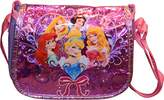 Princess Disney Princesses Girl's Messenger Style Crossbody Purse