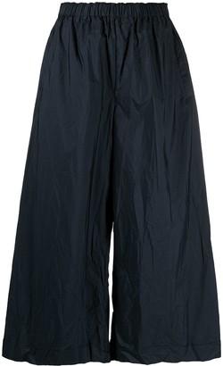 Daniela Gregis Wide-Leg Cropped Trousers