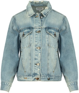Frame Overlap Denim Jacket