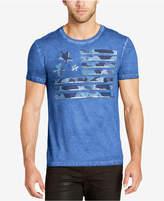 William Rast Men's Camo Graphic-Print T-Shirt