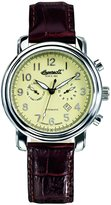 Ingersoll Men's Pullmann IN1821CH Brown Calf Skin Automatic Watch with Dial
