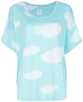 Tsumori Chisato Cats By cloud print t-shirt