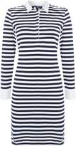 Gant Long Sleeve Striped Dress With Collar