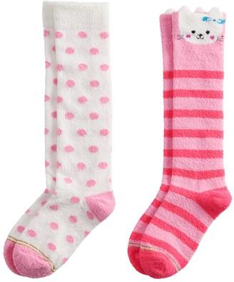 Gold Toe Girls 7-16 GOLDTOE 2-pack Cat Face Knee High Socks