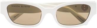 Linda Farrow X Magda Butrym I Need A Holiday cat-eye frame sunglasses