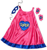 Epic Threads Hero Kids by 3-Pc. Mask, Cape & Wrist Cuff Set, Toddler Girls (2T-5T), Little Girls (4-6X), & Big Girls (7-16), Created for Macy's