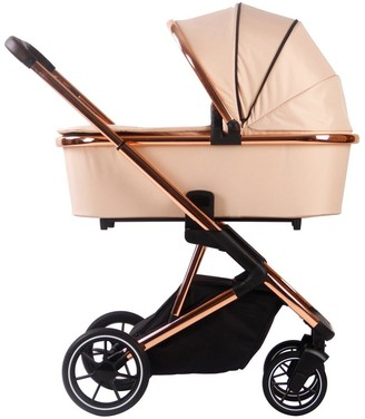 Your Babiie Belgravia Rose Gold Blush Travel System