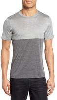 Eleventy Men's Colorblock Silk & Cotton T-Shirt