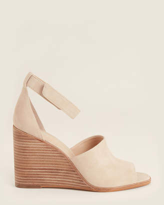 Vince Camuto Buff Deedriana Wedge Suede Sandals