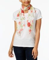 Collection XIIX Picnic Floral Scarf