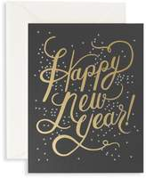 Rifle Paper Co. Set of Eight Shimmering New Year Holiday Cards