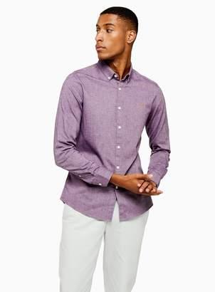 Farah TopmanTopman Purple Steen Slim Shirt*