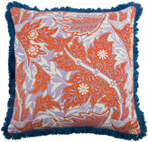 Thomas Paul Calico 22x22 Pillow, Coral