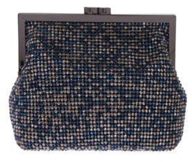 La Regale Multi Crystal Pouch Clutch