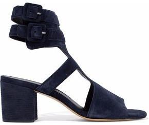 Rag & Bone Madison Cutout Suede Sandals