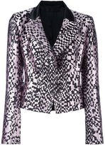 Haider Ackermann 'Madeline' blazer - women - Cotton/Silk/Polyester - 38