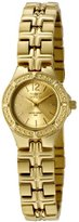 Invicta Women's 0131 Wildflower Collection 18k Gold-Plated Stainless Steel Watch