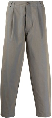 Societe Anonyme Pleated Wide-Leg Trousers