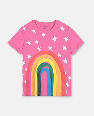 Stella McCartney rainbow cotton t-shirt