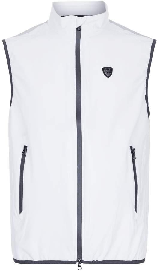 Giorgio Armani Striped Shoulder Gilet