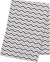 TREND LAB, LLC Trend Lab Chevron Swaddle Blanket - Navy and Gray