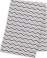 TREND LAB, LLC Trend Lab Chevron Swaddle Blanket - Navy and Gray