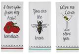 Love You Dish Towels (Set of 3)