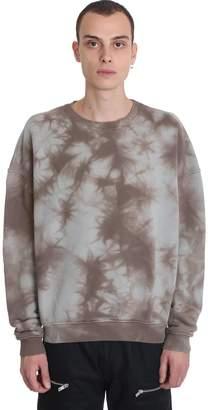 Represent REPRESENT Sweater Sweatshirt In Taupe Cotton