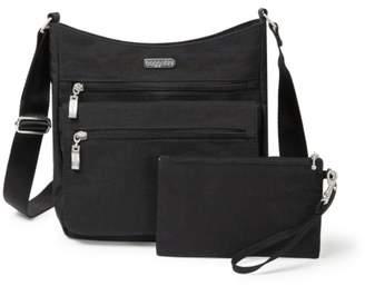 Baggallini Top Zip Flap Crossbody Bag