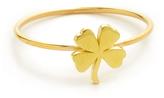 Jennifer Meyer Jewelry 18k Gold Mini Clover Ring